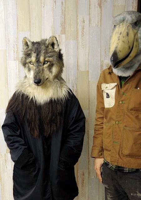リアル過ぎる動物のマスクの画像(5枚目)