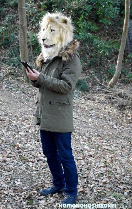 リアル過ぎる動物のマスクの画像(6枚目)