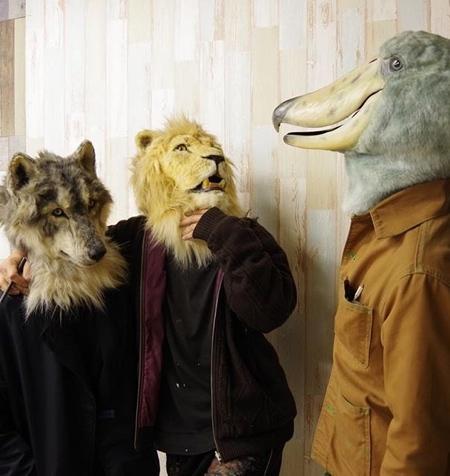 リアル過ぎる動物のマスク02