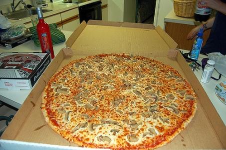凄まじく大きなピザ12