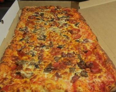 凄まじく大きなピザ15