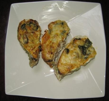 牡蠣のマヨネーズ焼き