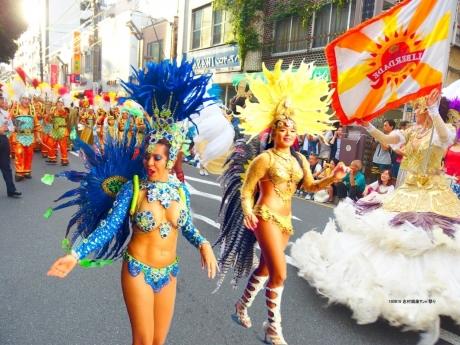 志村銀座サンバ祭り1
