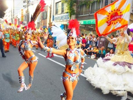 志村銀座サンバ祭り2