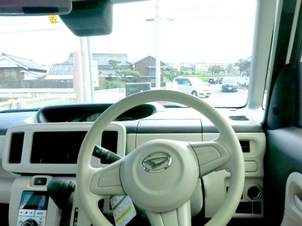 運転席からの視界