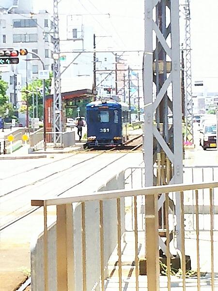 堺の街の市電