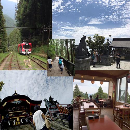 500x神社景色