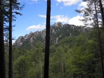 此れから登る瑞牆山180825