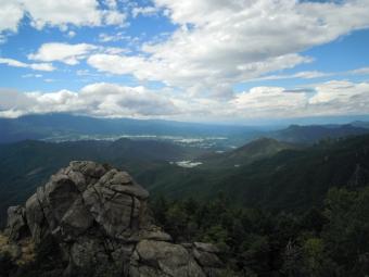山頂からー3-180825