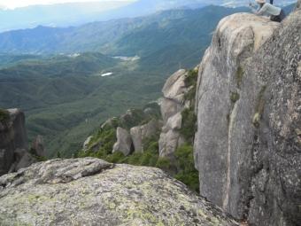 山頂からー4-180825