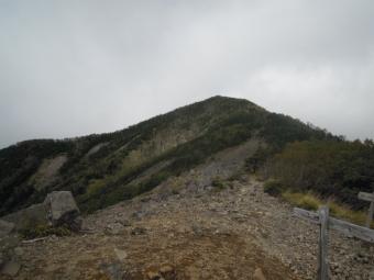急降下で降りて来た山180916
