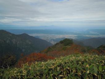 山頂から181005
