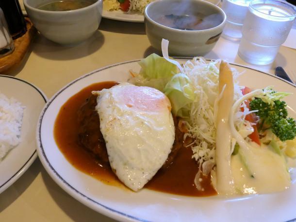 スペシャルハンバーグ定食