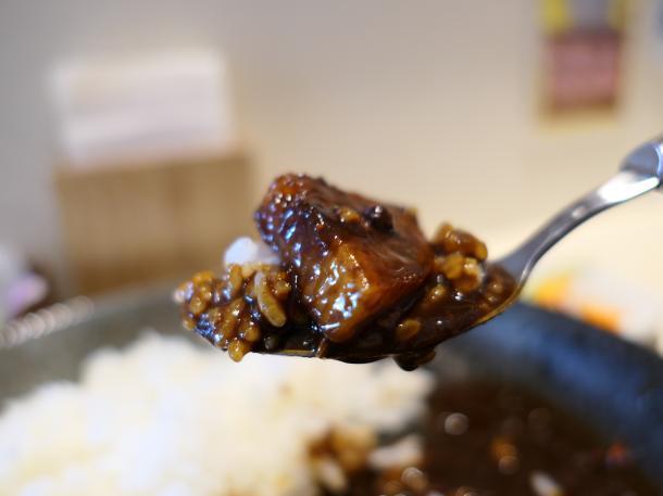国産牛と長芋ソテーのコク旨カレー
