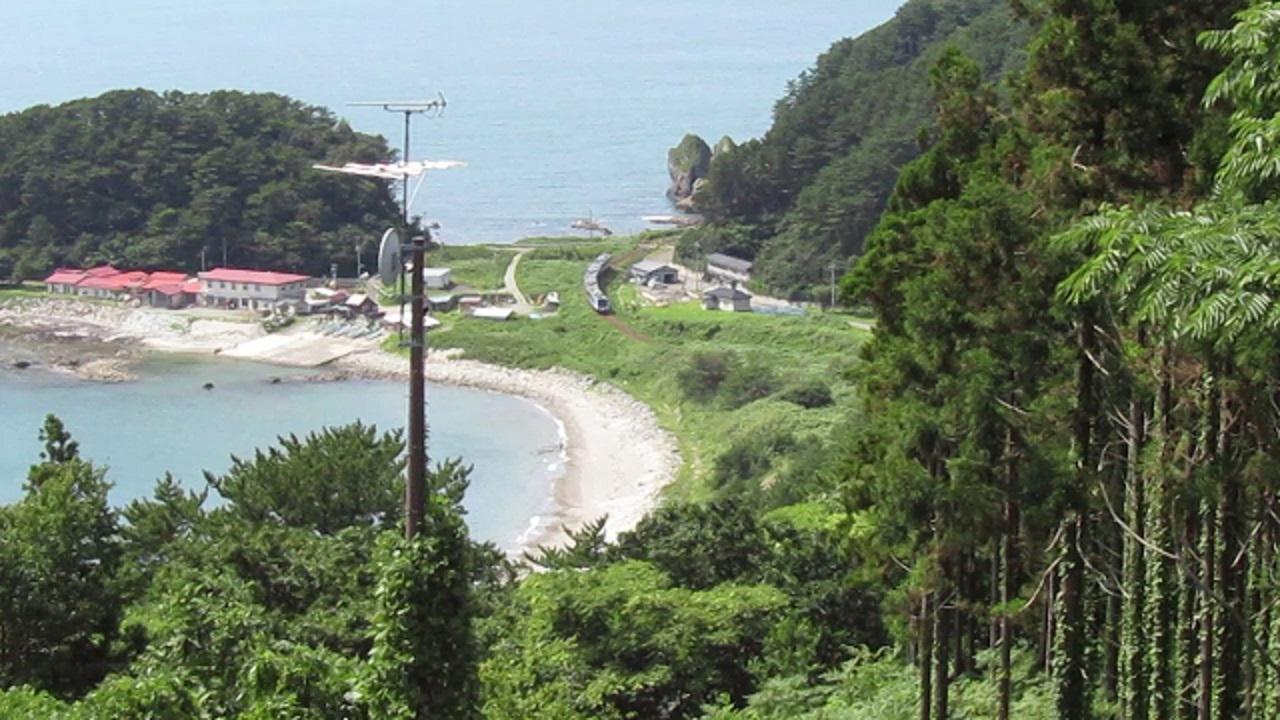 仙北岩トンネルへ