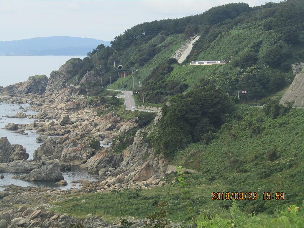 木蓮寺海岸沿い風景1