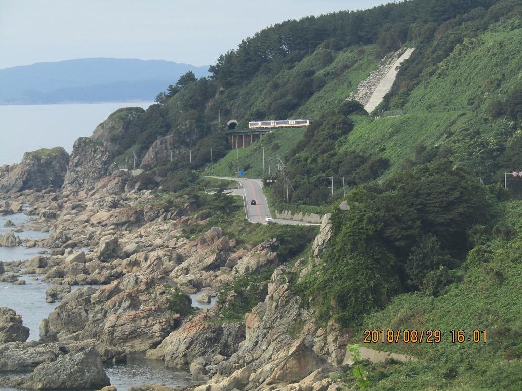 木蓮寺海岸沿い風景2
