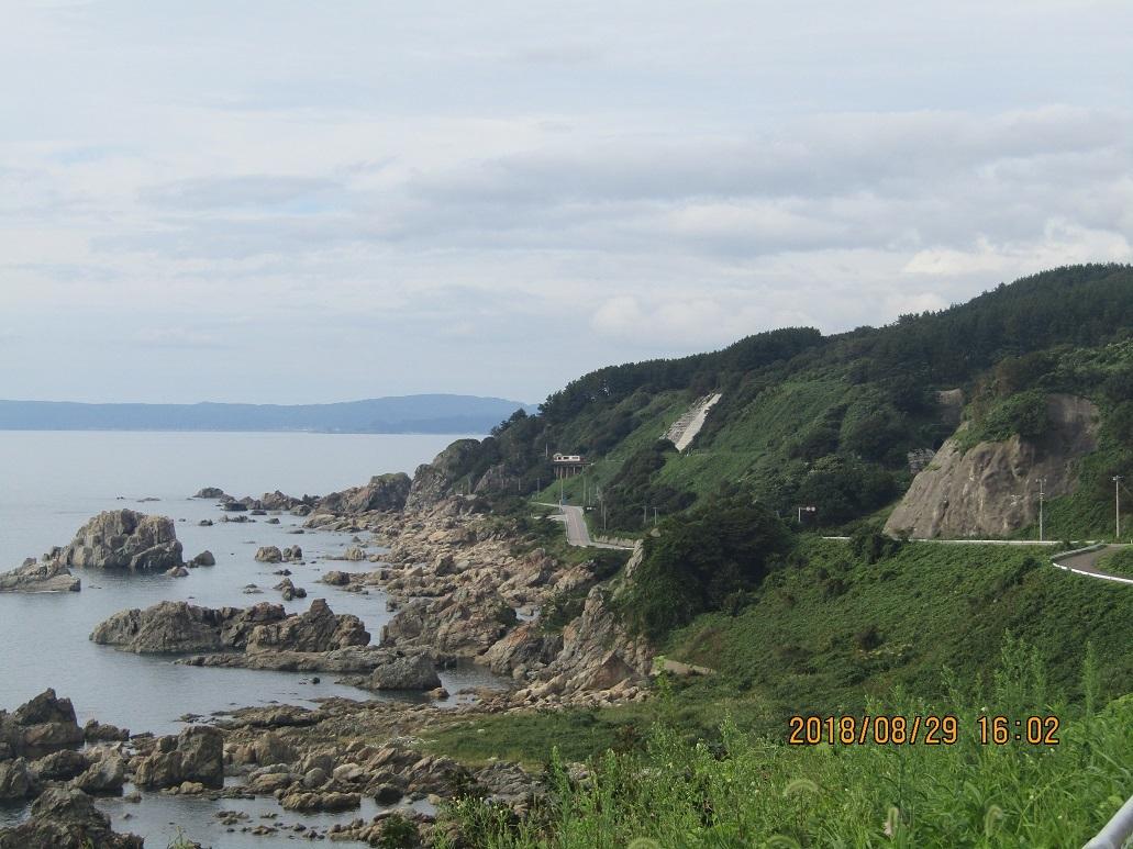 木蓮寺海岸沿い風景3