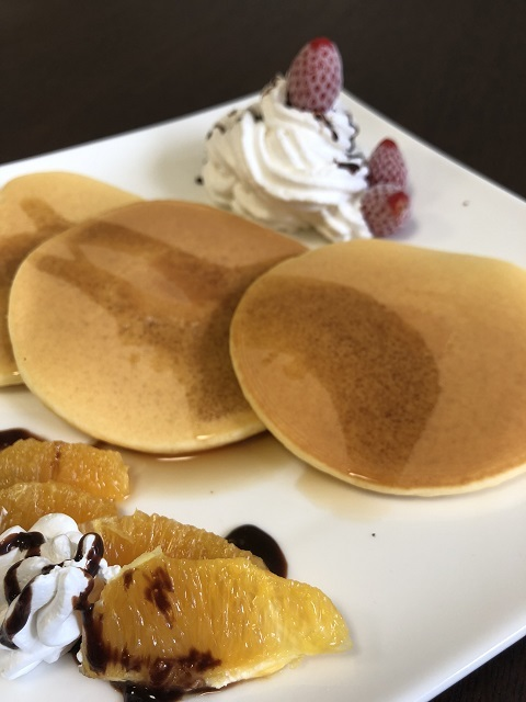 カフェ 花瑞姫 パンケーキ