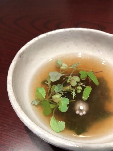 レメデ ニカホ 男鹿ワカメのコンソメスープ