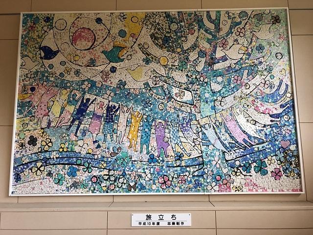 角川里山カフェ すっぺ家 平成10年度 卒業制作 「旅立ち」