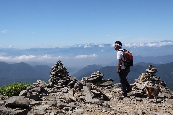 2012根子岳登頂