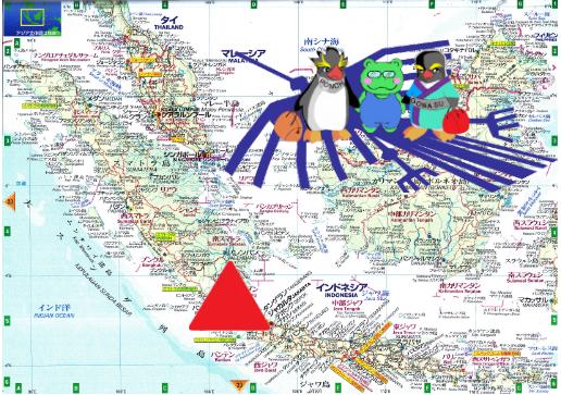 世界旅行インドネシアー1