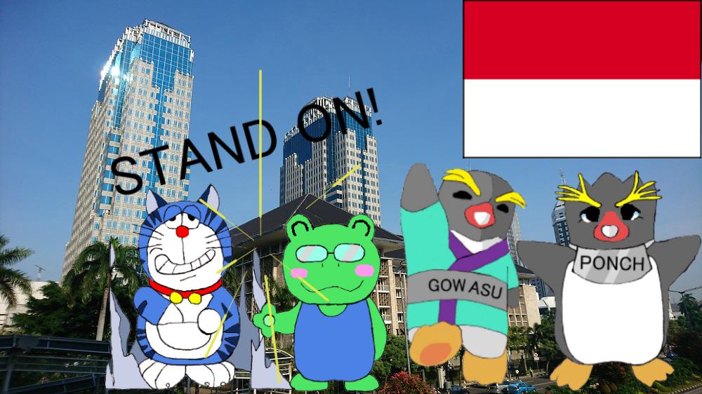 世界旅行インドネシアー4