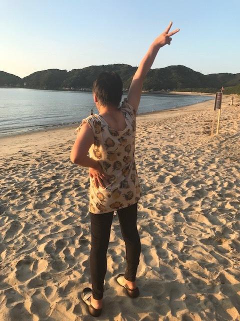 海での洋子