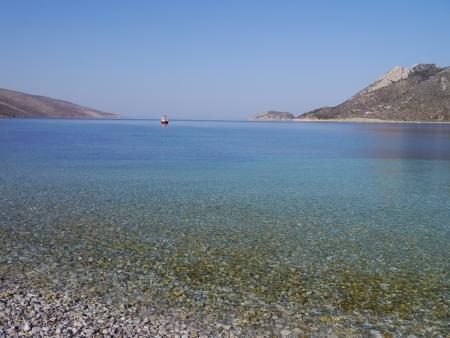 アモルゴス島ビーチ