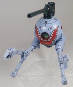 HGUC ボールK型(第08MS小隊版)&ボール(シャークマウス仕様) 2機セット (3)