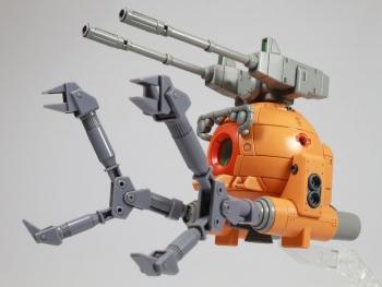 HGUC ボールK型(第08MS小隊版)&ボール(シャークマウス仕様) 2機セット (4)