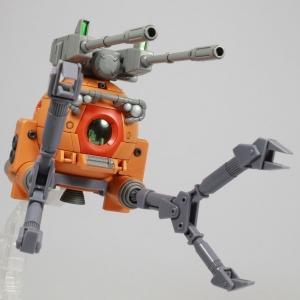 HGUC ボールK型(第08MS小隊版)&ボール(シャークマウス仕様) 2機セット (5)