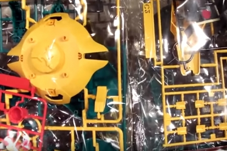 RE100 ヤクト・ドーガ(ギュネイ・ガス機)動画1