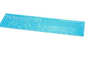 タミヤ カッティングマットα (A3ハーフサイズブルー)t