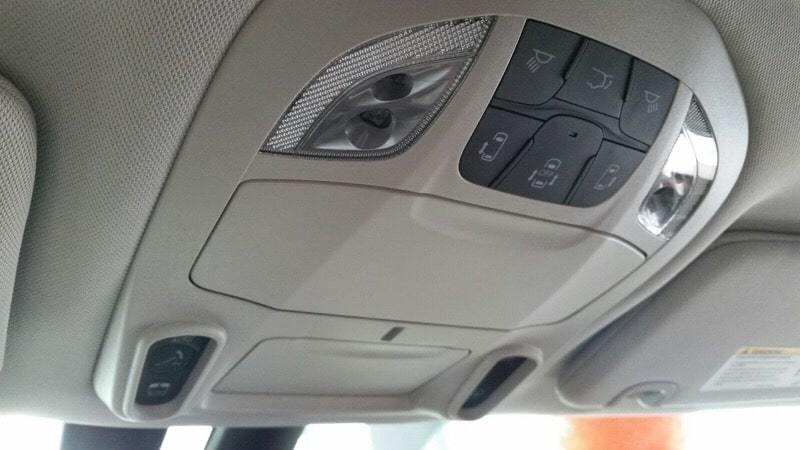 2017新型クライスラーパシフィカリミテッド天井ボタン