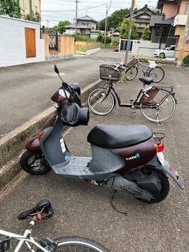 バイク置き