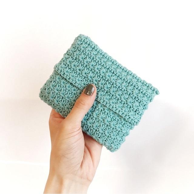 手編み雑貨 HanahanD ティッシュケース ポケットティッシュ