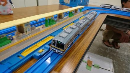 改造プラレール 東武20400系
