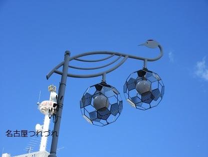 鶴の街路灯