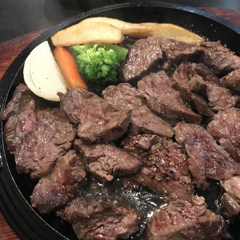 テンダーステーキ定食