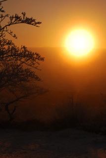 六甲山の日の出