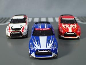 映画ドライブヘッド 機動救急警察専用車 日産 GT-R SPセット(警察ver 消防ver 救急ver) (1)