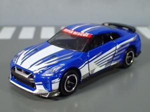 映画ドライブヘッド 機動救急警察専用車 日産 GT-R SPセット(警察ver 消防ver 救急ver) (7)