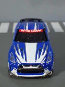 映画ドライブヘッド 機動救急警察専用車 日産 GT-R SPセット(警察ver 消防ver 救急ver) (10)