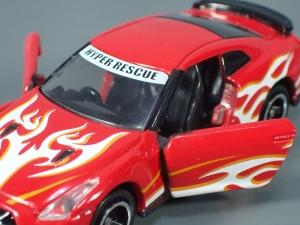 映画ドライブヘッド 機動救急警察専用車 日産 GT-R SPセット(警察ver 消防ver 救急ver) (22)