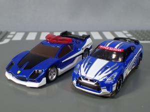 映画ドライブヘッド 機動救急警察専用車 日産 GT-R SPセット(警察ver 消防ver 救急ver) (30)