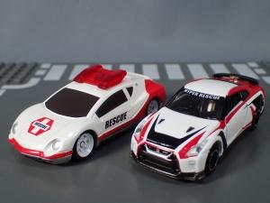 映画ドライブヘッド 機動救急警察専用車 日産 GT-R SPセット(警察ver 消防ver 救急ver) (32)