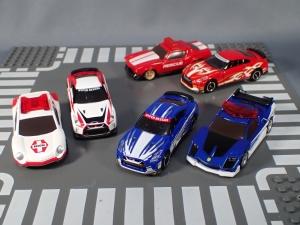 映画ドライブヘッド 機動救急警察専用車 日産 GT-R SPセット(警察ver 消防ver 救急ver) (34)