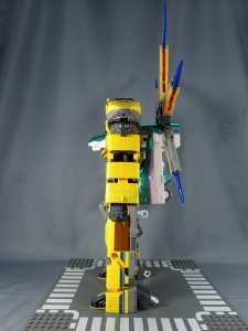 新幹線変形ロボ シンカリオン DXS11 シンカリオン ドクターイエロー (13)